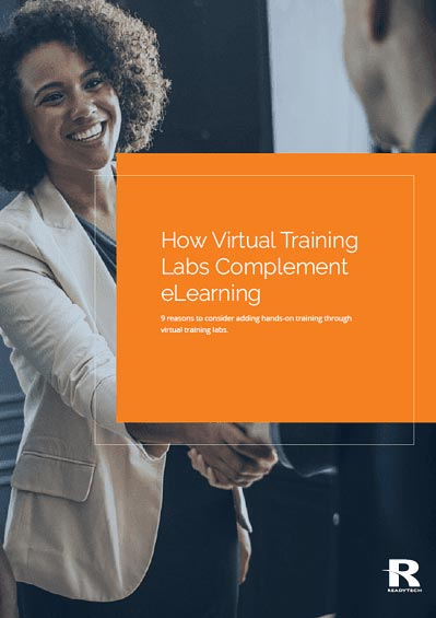 How Virtual Training Labs Complement eLearning